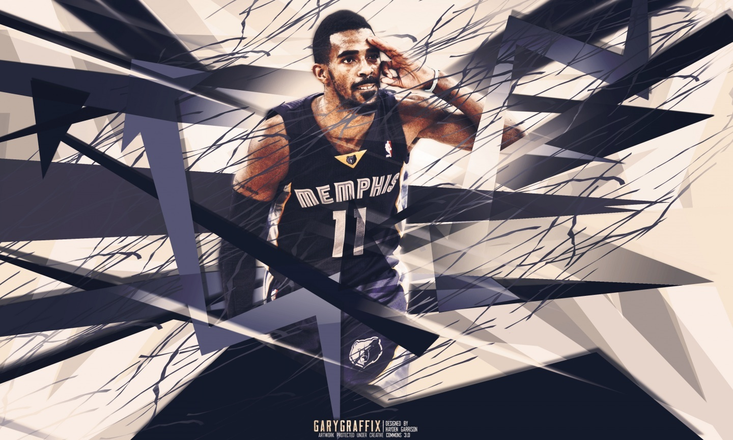 Mike Conley Geometric Design Wallpaper Photo Shared By Anabella 1440x864