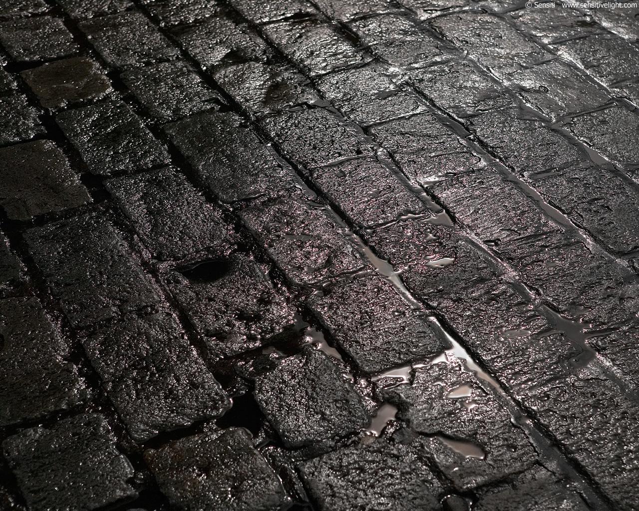 Wet stone street wallpapers Wet stone street stock photos 1280x1024