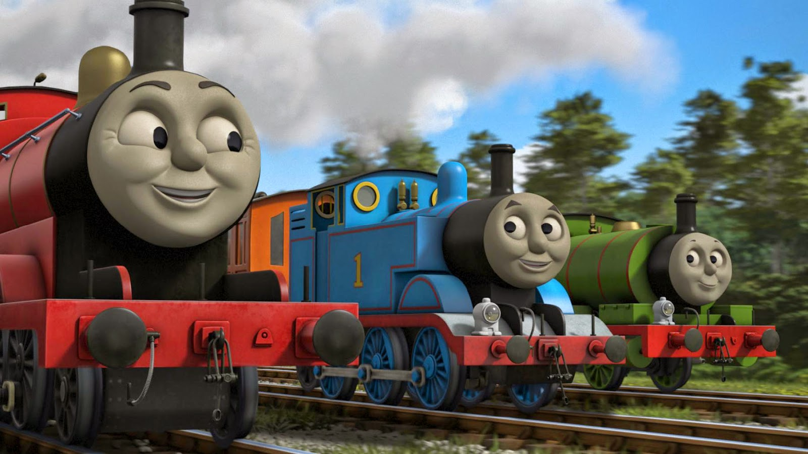 47 ] Thomas And Friends Wallpaper HD On WallpaperSafari
