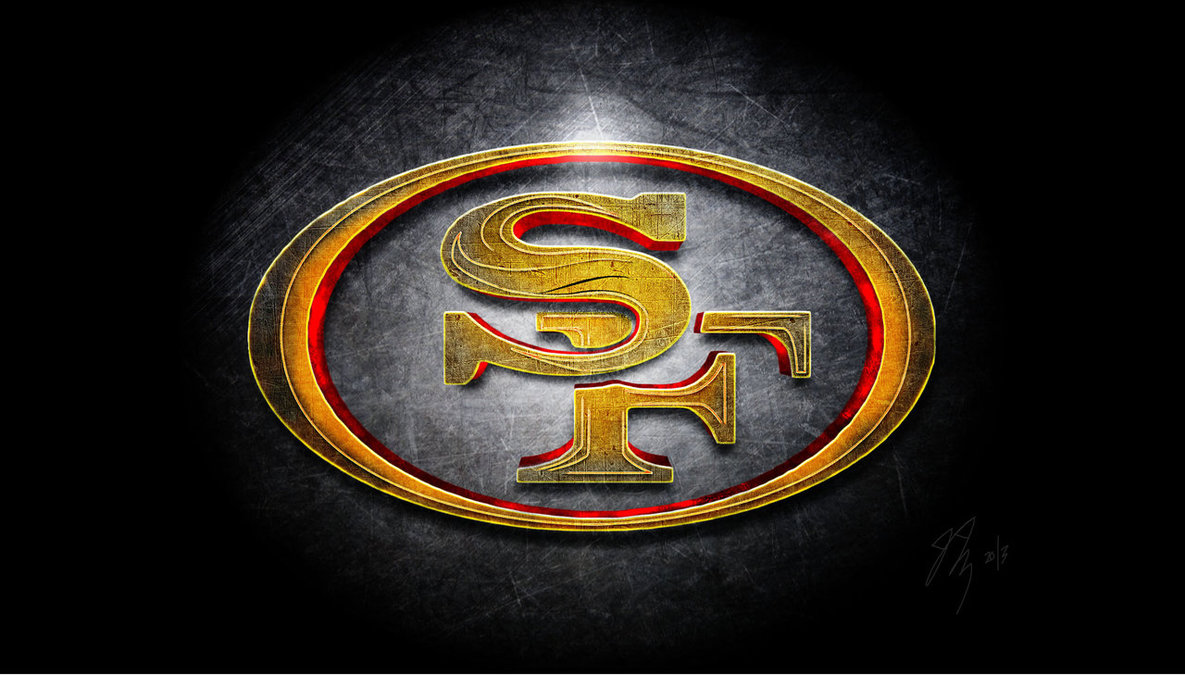San Francisco 49ers Logo Men of Gold by DonZellini 1185x675