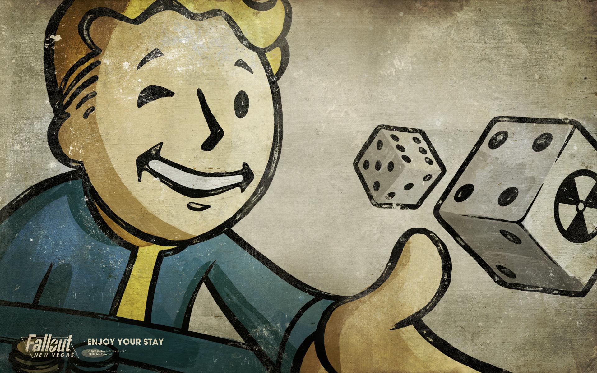 Fallout 3 Wallpaper Vault Boy wallpaper   578477 1920x1200