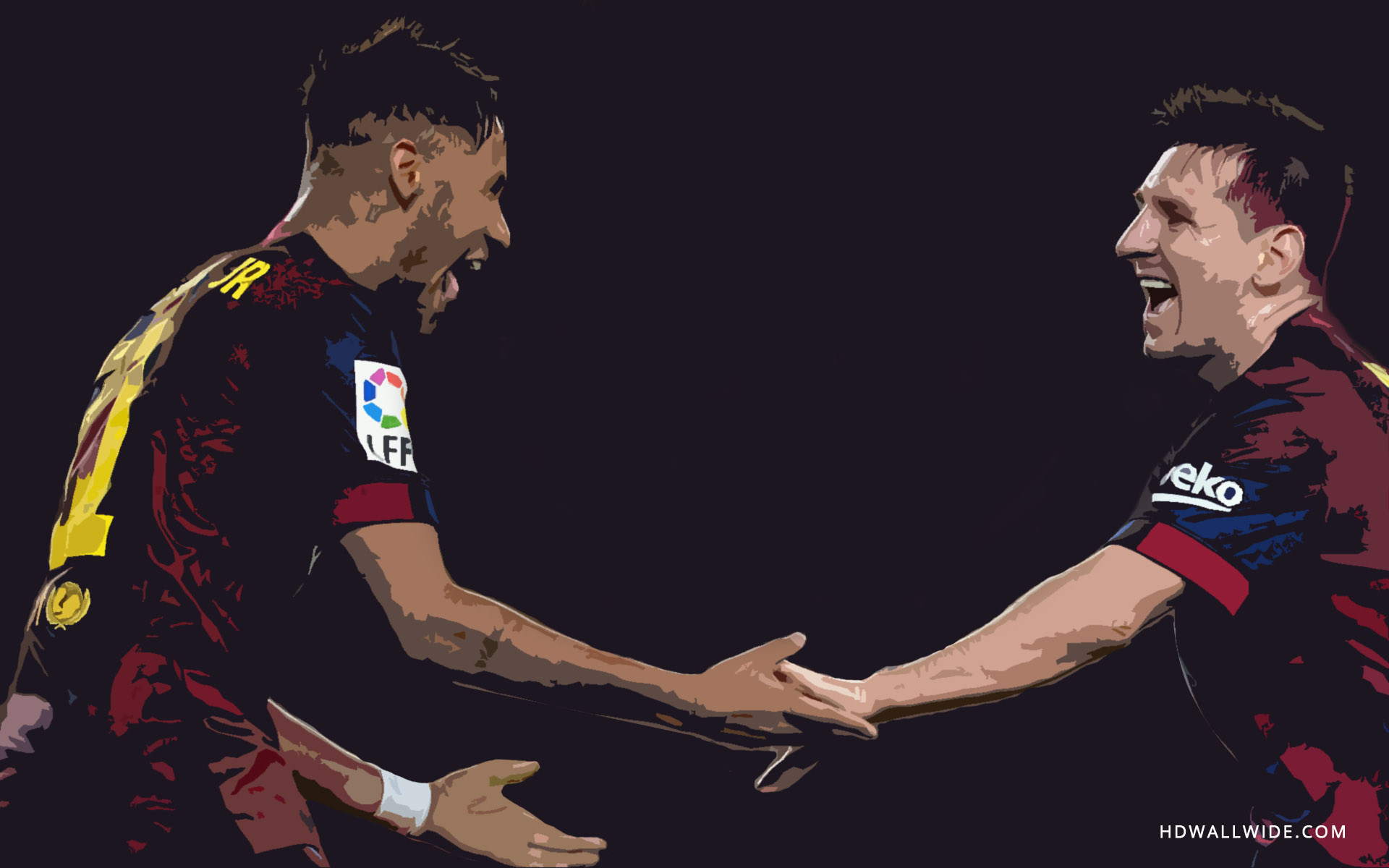 messi and neymar wallpapers wallpapersafari