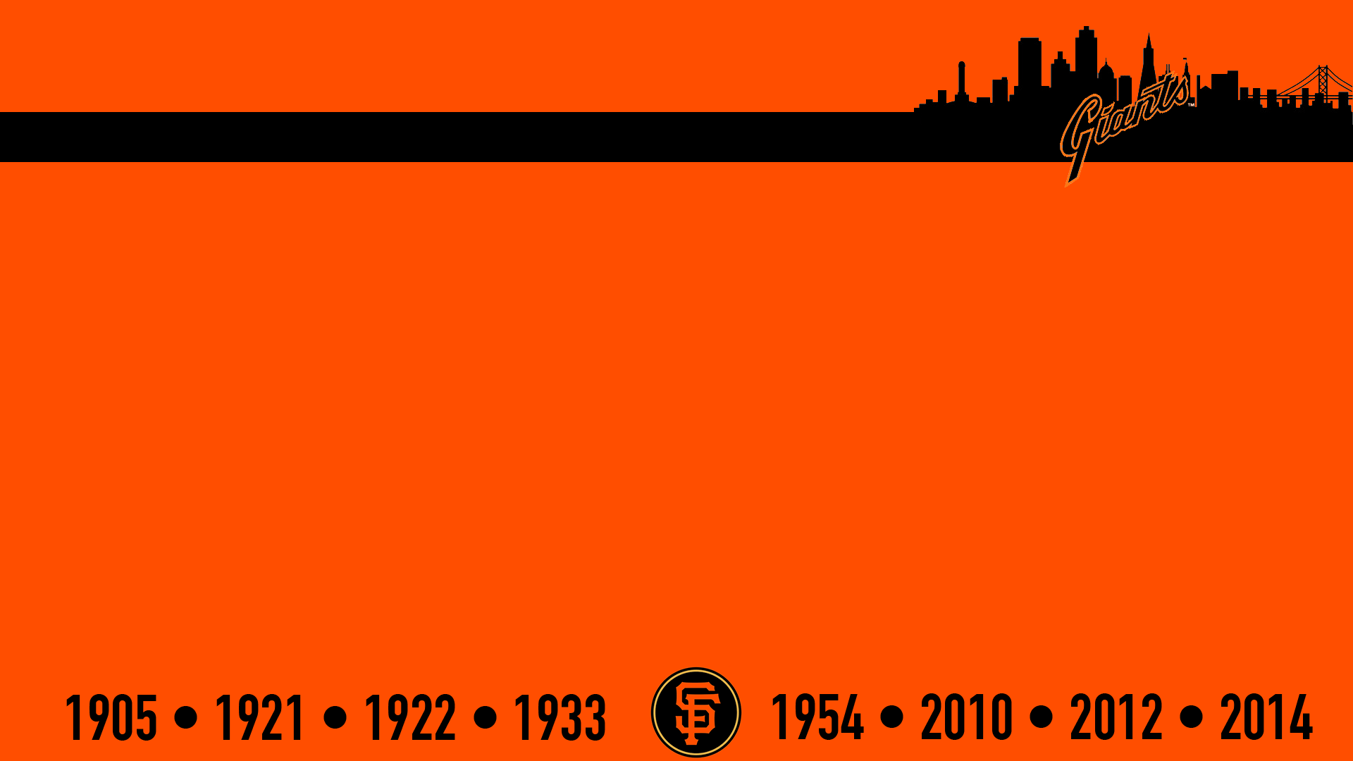 Sf Giants 2016 Schedule Wallpapers 1920x1080