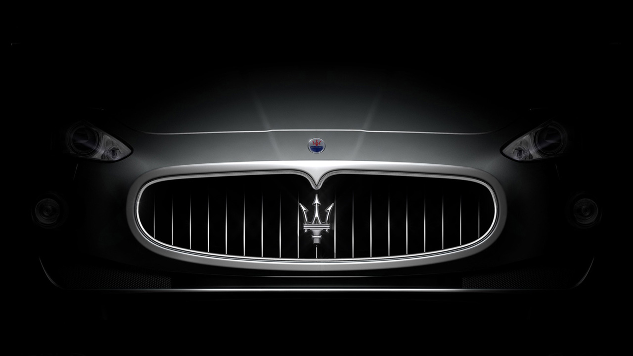 Maserati Logo Wallpaper for Pinterest 1280x720