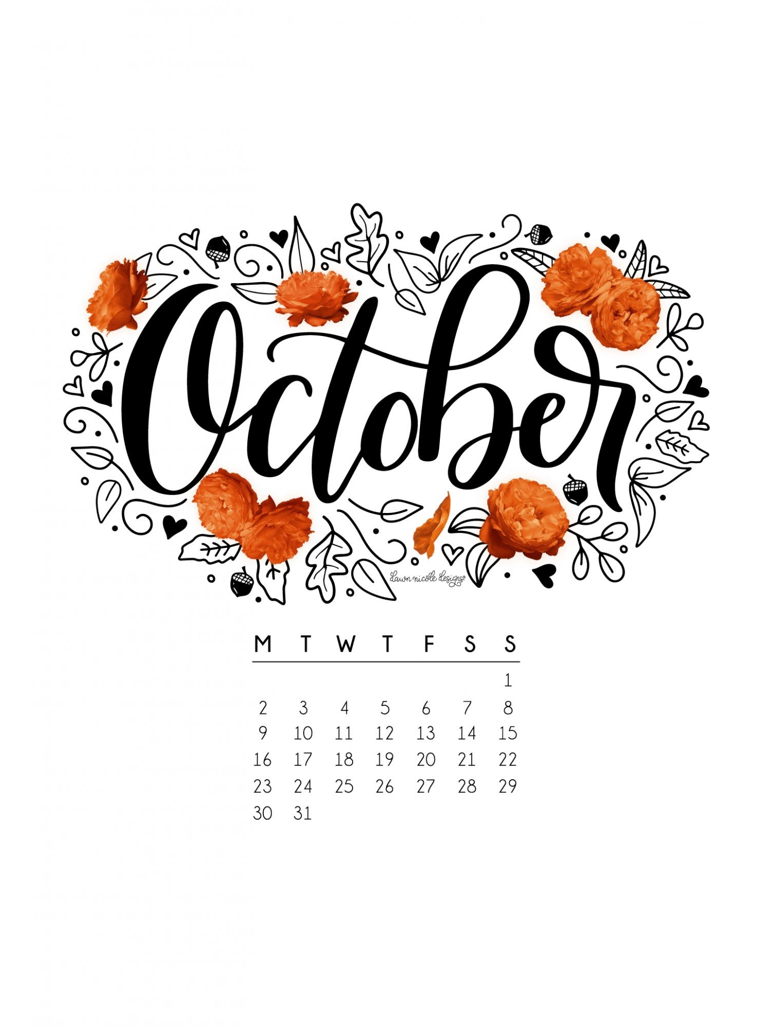 Wallpapers with Calendar 2018 57 images 1504x2000