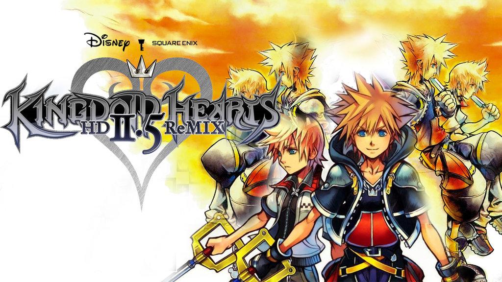 Kingdom Hearts 25 HD ReMix Wallpaper 2 by davidsobo 1024x576