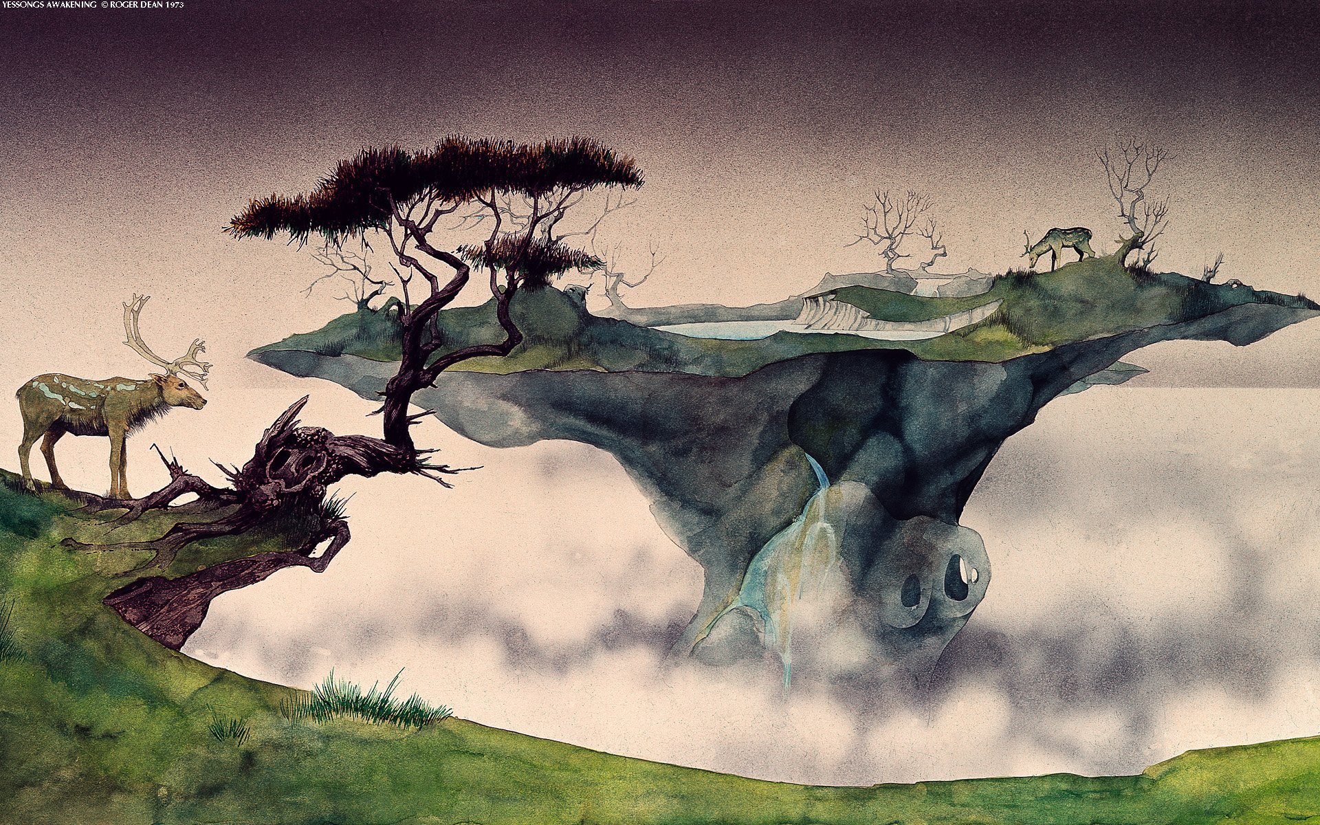 48 Roger Dean Wallpaper For Iphone On Wallpapersafari
