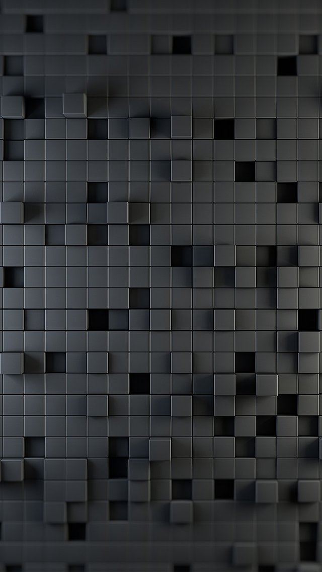 backgrounds for your iphone 5iphone wallpaper 640x1136 block grid 3d 640x1136