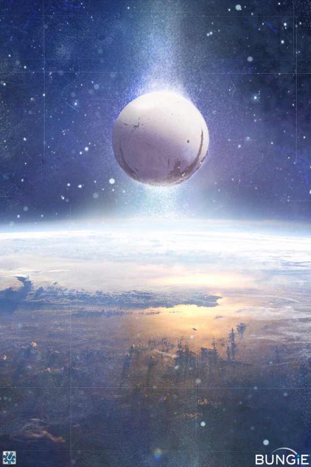 Destiny Bungie Hd Wallpaper Subject destiny artwork 640x960