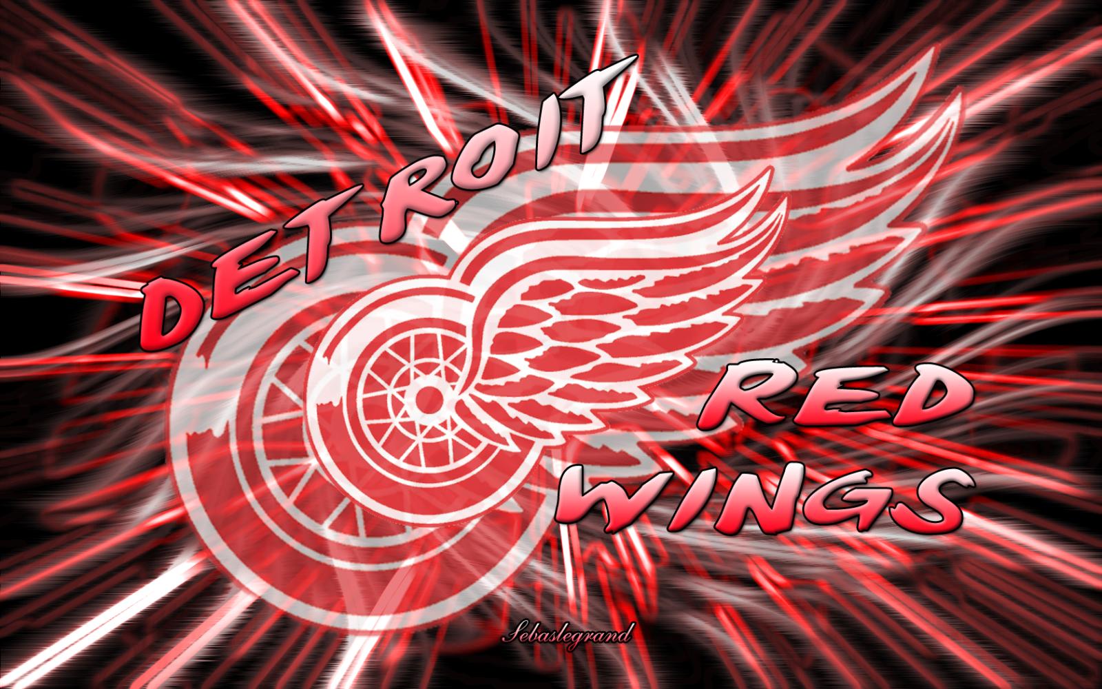 Fondos De Detroit Red Wings Pantalla 1600x1000