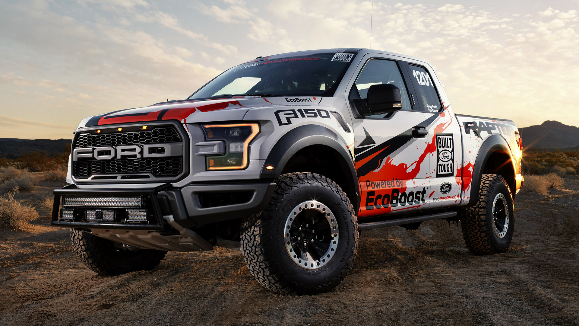 Ford F 150 Raptor Race Truck 2017 Wallpapers and HD Images 1920x1080