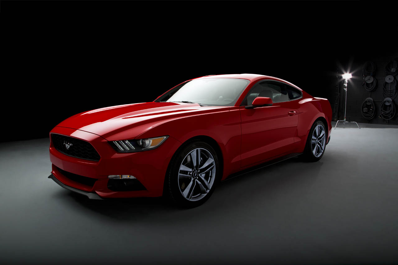 Red Mustang 2015 Wallpaper PC 4438 Wallpaper Wallpaper Screen 1280x853