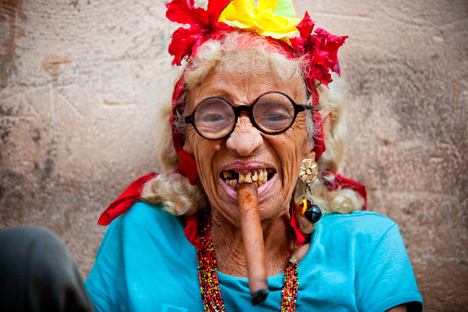 Cuban Dress Smoking A Cigar Havana Cuba HD Walls Find Wallpapers 960x640