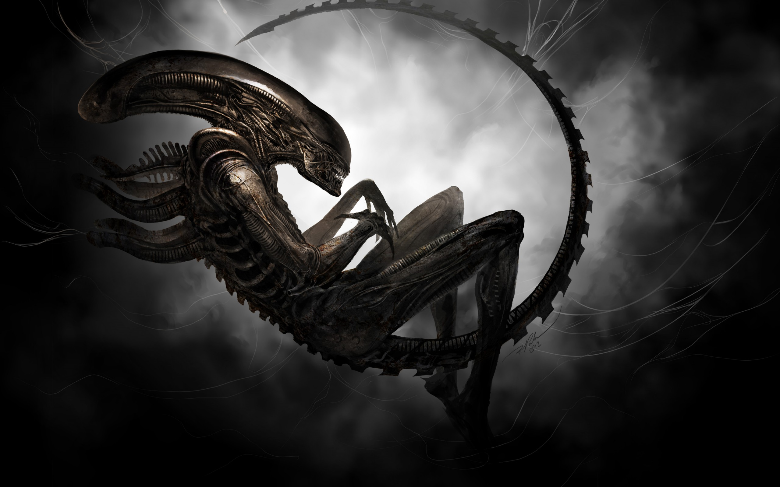 Alien aliens movies sci fi wallpaper 2560x1600 77929 2560x1600
