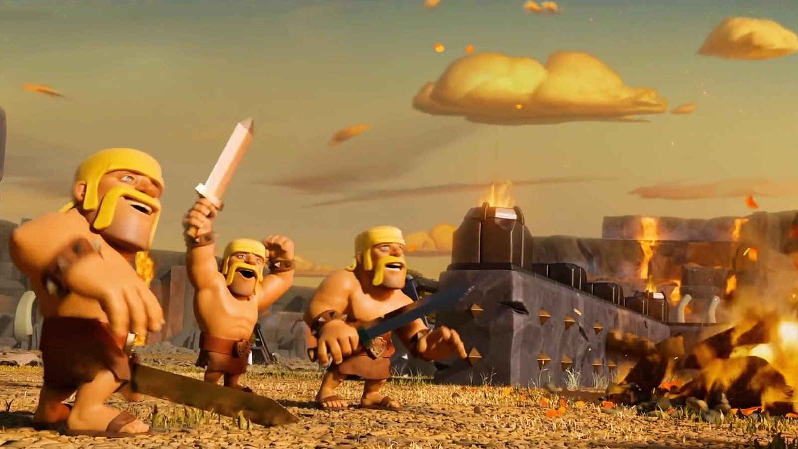 Clash of clans   Yahoo 1600x900