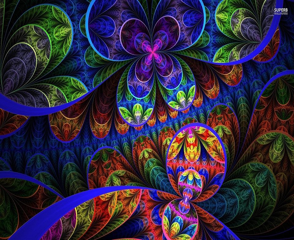 Trippy Alice in Wonderland Wallpaper - WallpaperSafari