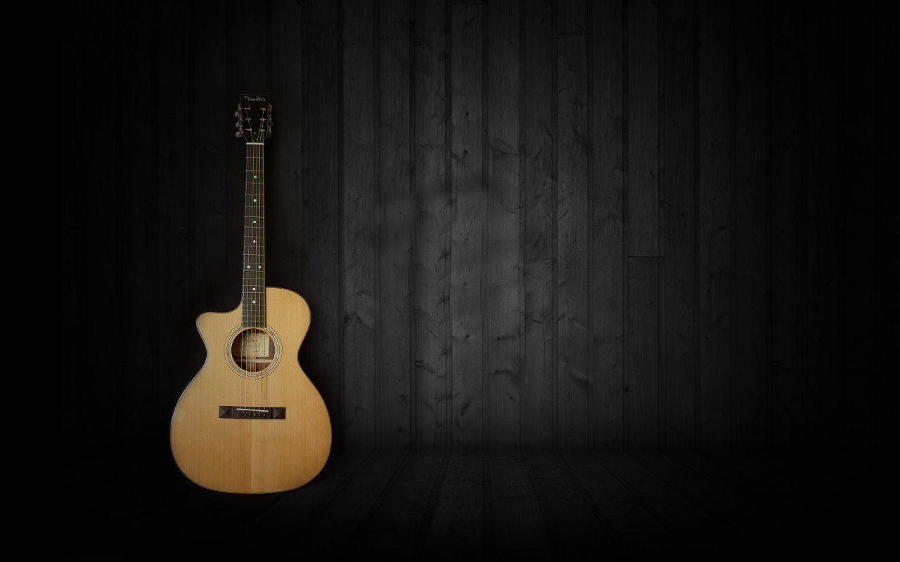 Music Guitar Wallpapers Hd Desktop And Mobile Backgrounds: Acoustic Guitar Wallpaper HD