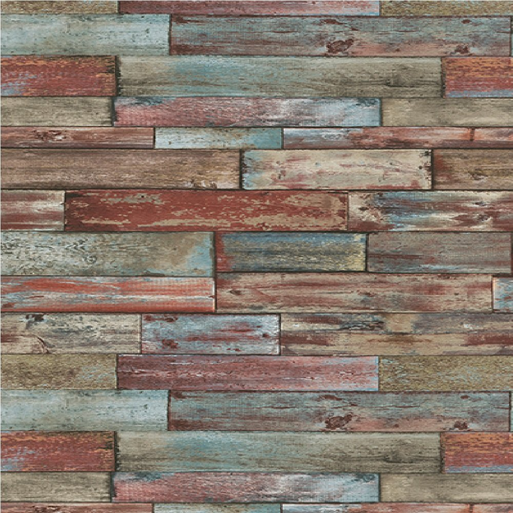 Wallpaper Erismann Erismann Authentic Wood Panel Wallpaper 1000x1000