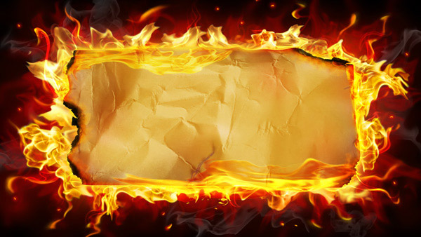 download material flame kraft paper paper backgrounds 600x338