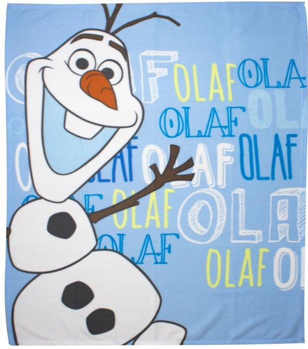 Frozen Fleece Blanket featuring the super cute and very funny Olaf 618x700