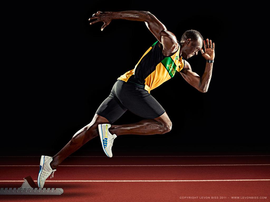 London Olympic Wallpaper Usain Bolt Wallpaper 1024x768