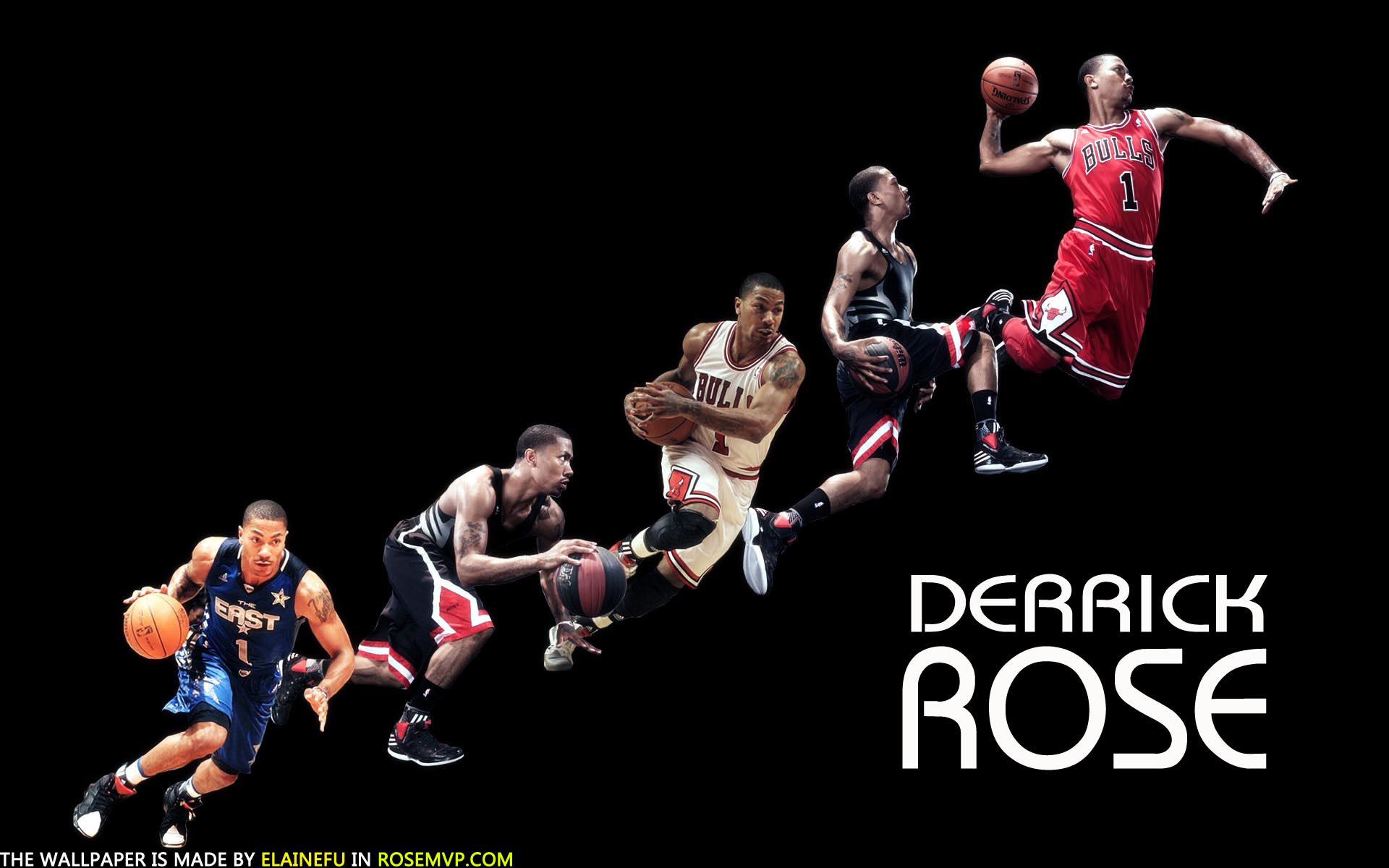 Derrick Rose Wallpapers HD Wallpapers Early 1920x1200