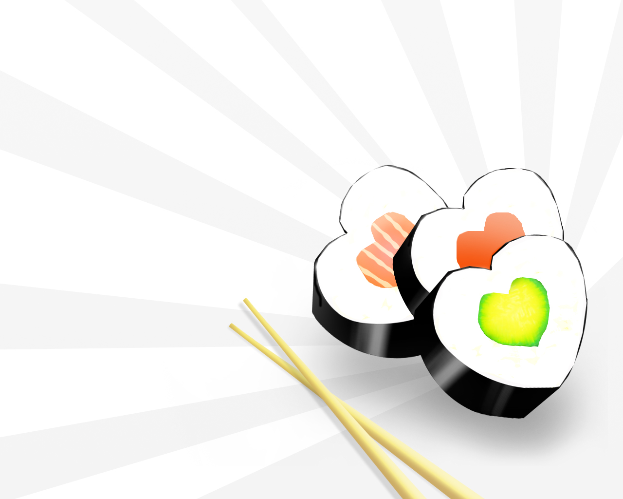 I Love Sushi Wallpapers I Love Sushi Backgrounds I Love 1280x1024