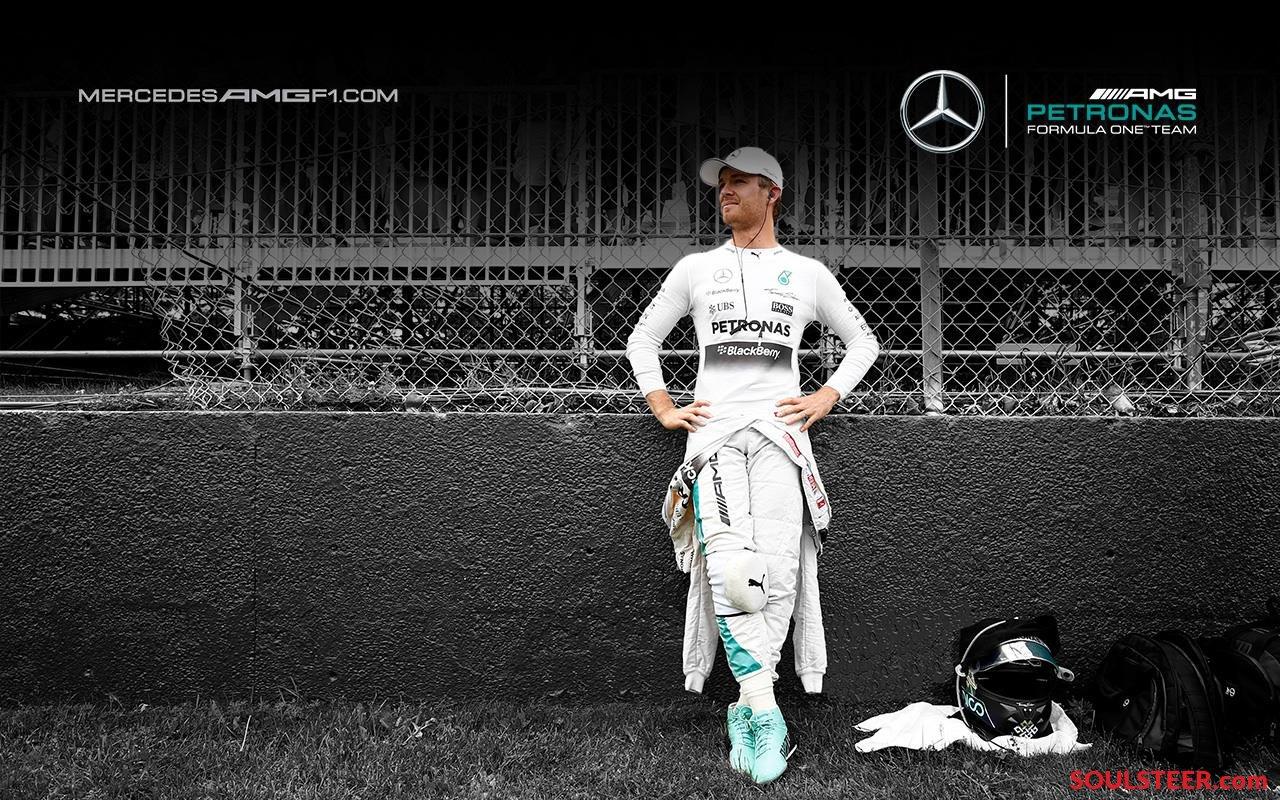 Fan alert 2015 wallpapers of Mercedes AMG Petronas Formula One Team 1280x800