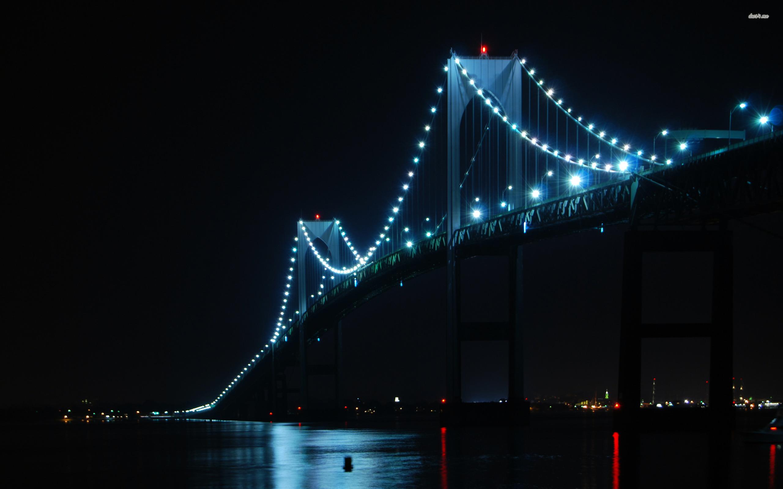 Newport Bridge   Rhode Island wallpaper   World wallpapers   4989 2560x1600