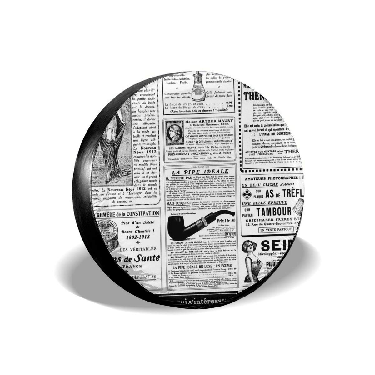 Amazoncom Jist Zovi Vintage Newspaper Background Universal Wheel 1200x1200