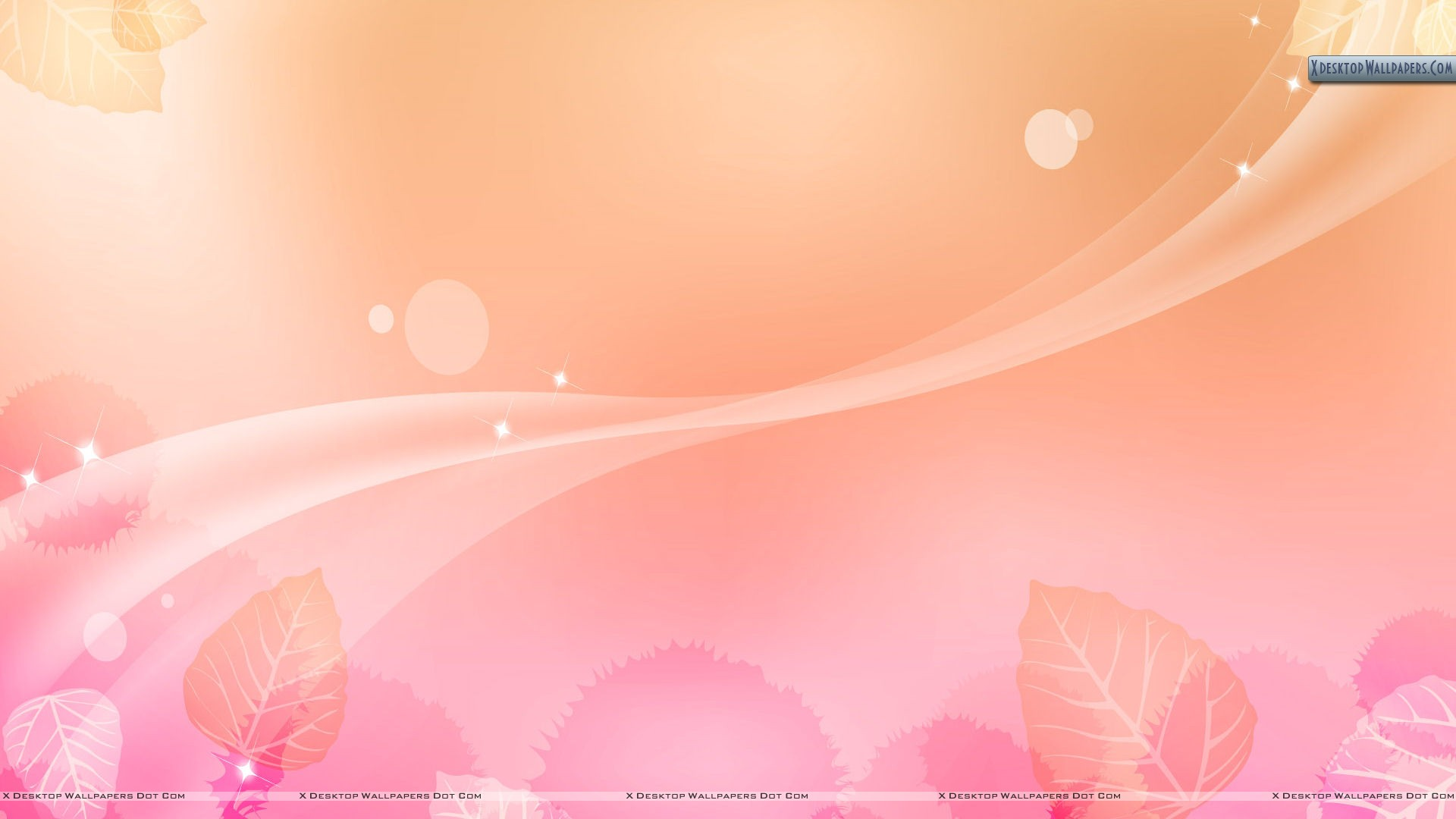 Light Pink Flower Abstract Background Wallpaper 1920x1080