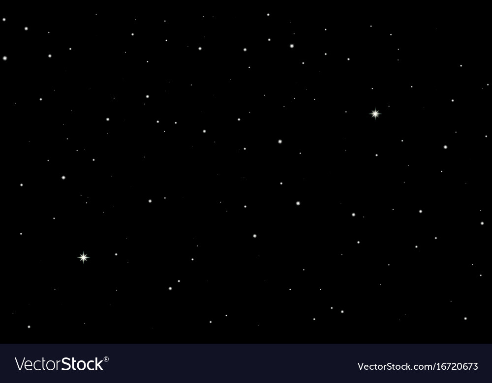Space starry sky background Royalty Vector Image 1000x780