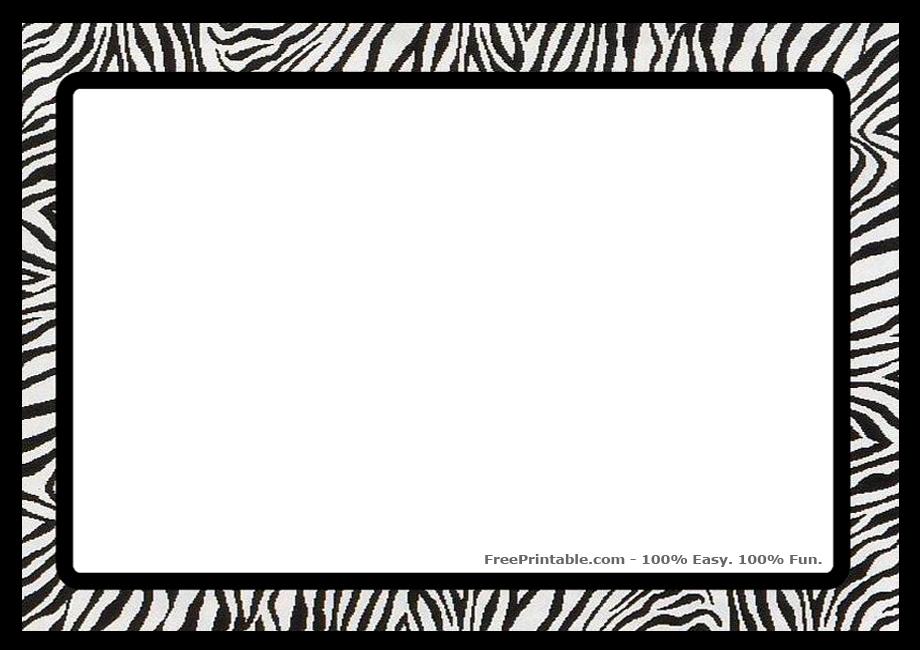 Zebraborderprint 920x650