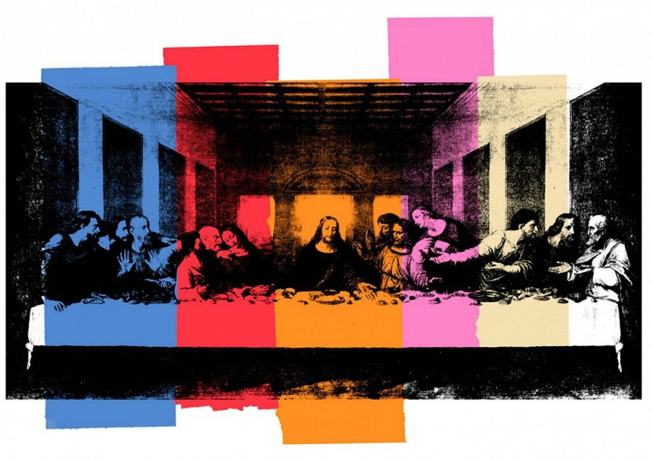Interiors The Last Supper Mural Wallpaper by Flavor Paper 920x650