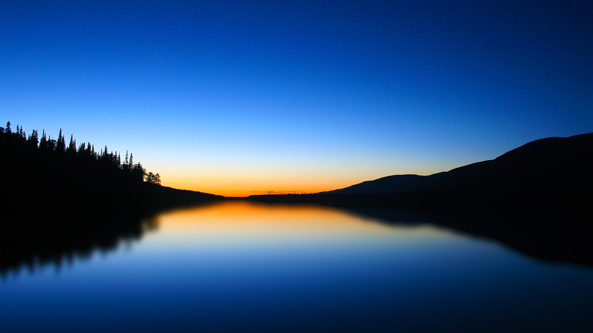 1920x1080 Hd Blue lake scenic wallpaper for windows 1920x1080