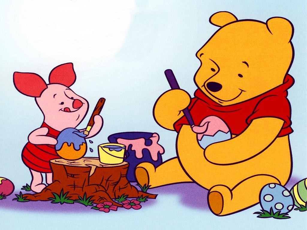 Winnie the Pooh Easter Wallpaper   Winnie the Pooh Wallpaper 6508272 1024x768