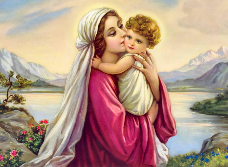 mary mother of god wallpaper wallpapersafari