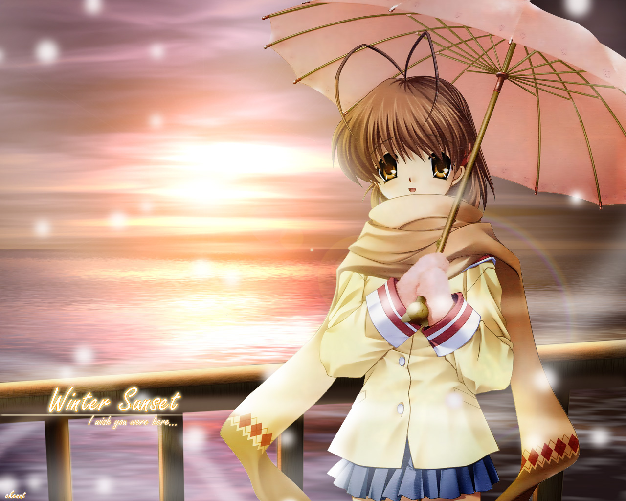 Clannad Wallpapers   MangAnime View 1280x1024