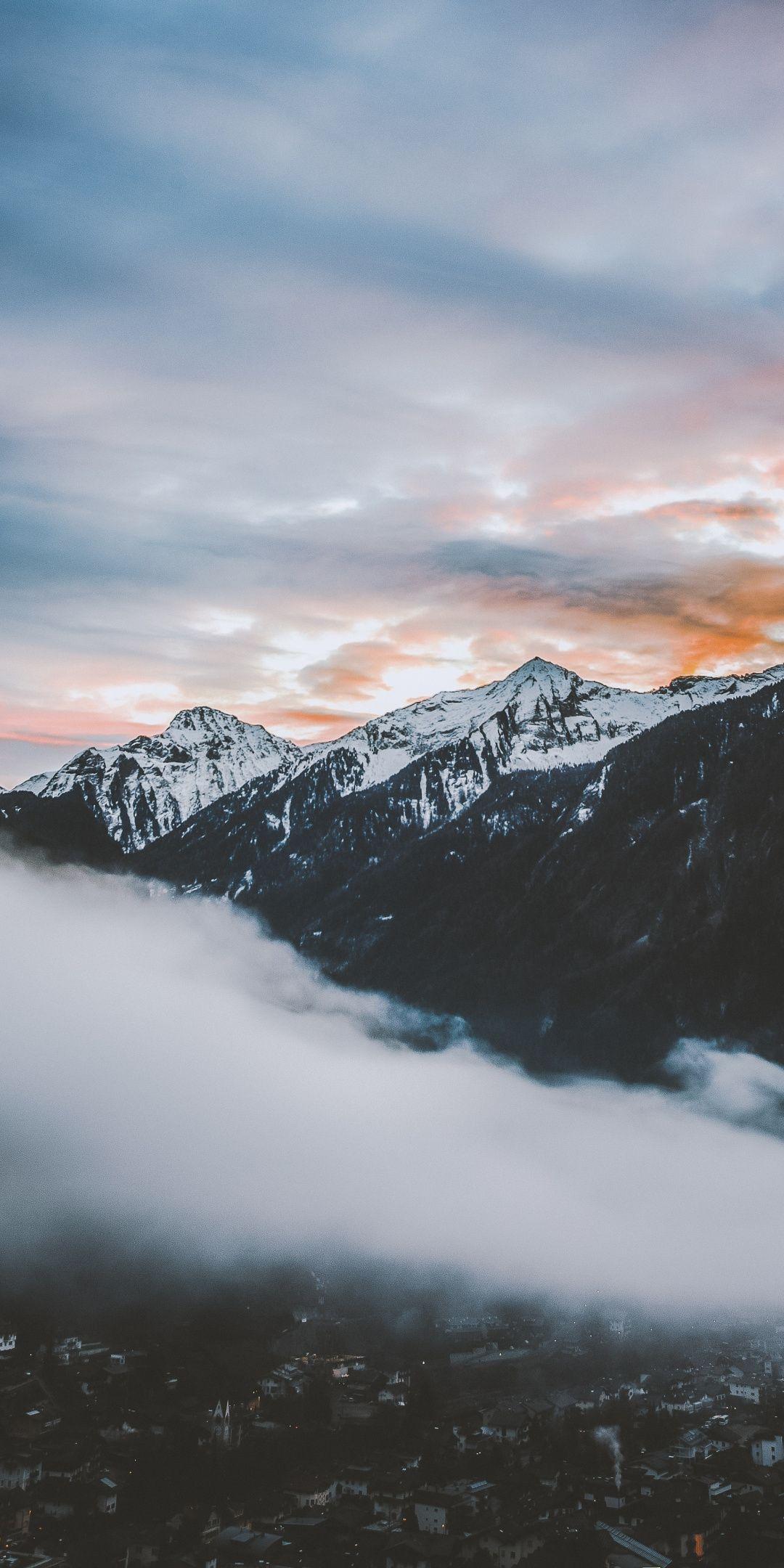 Cloud Mountain Wallpapers   Top Cloud Mountain Backgrounds 1080x2160