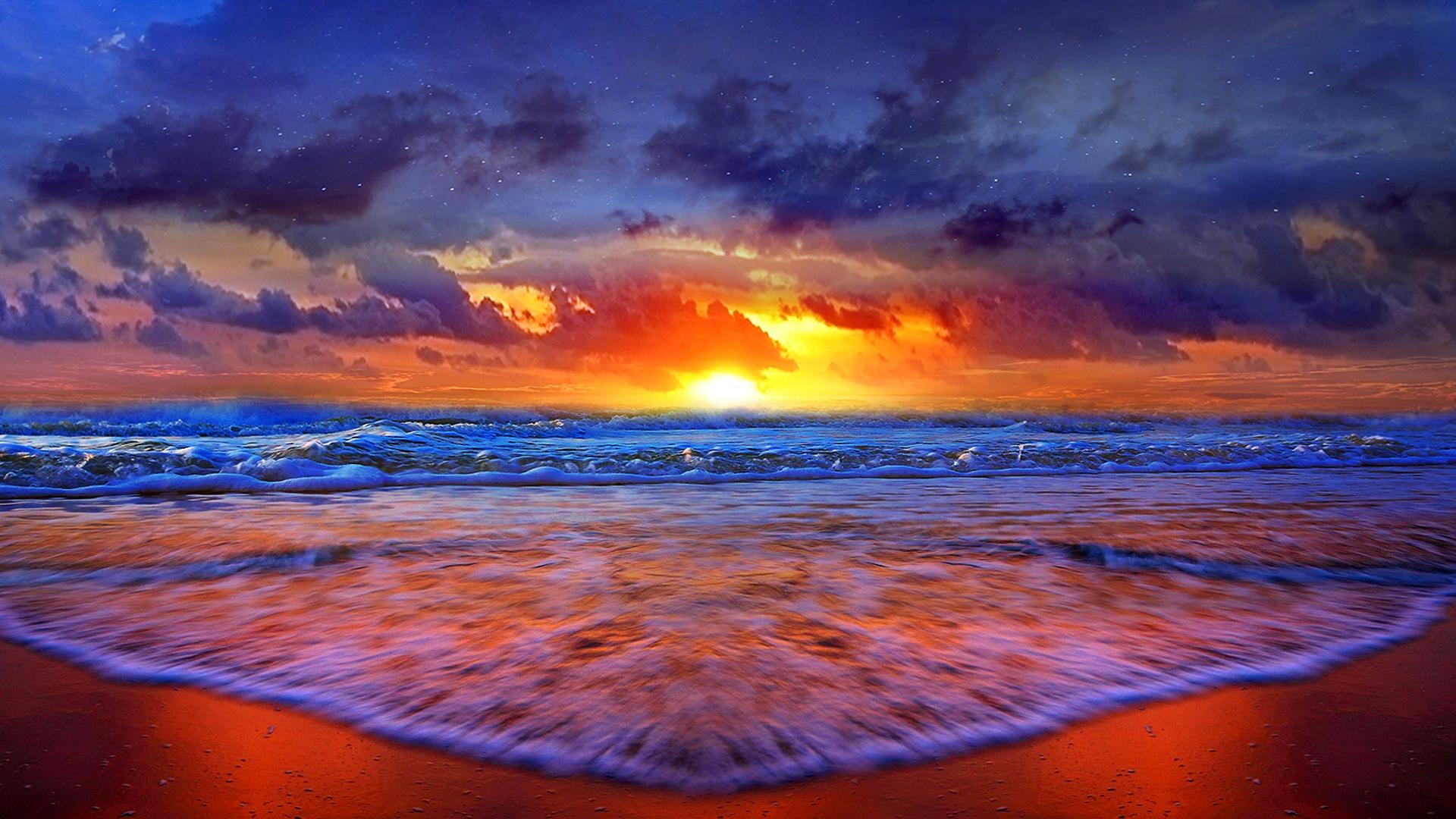 The Sunset HD Desktop Background 1920x1080