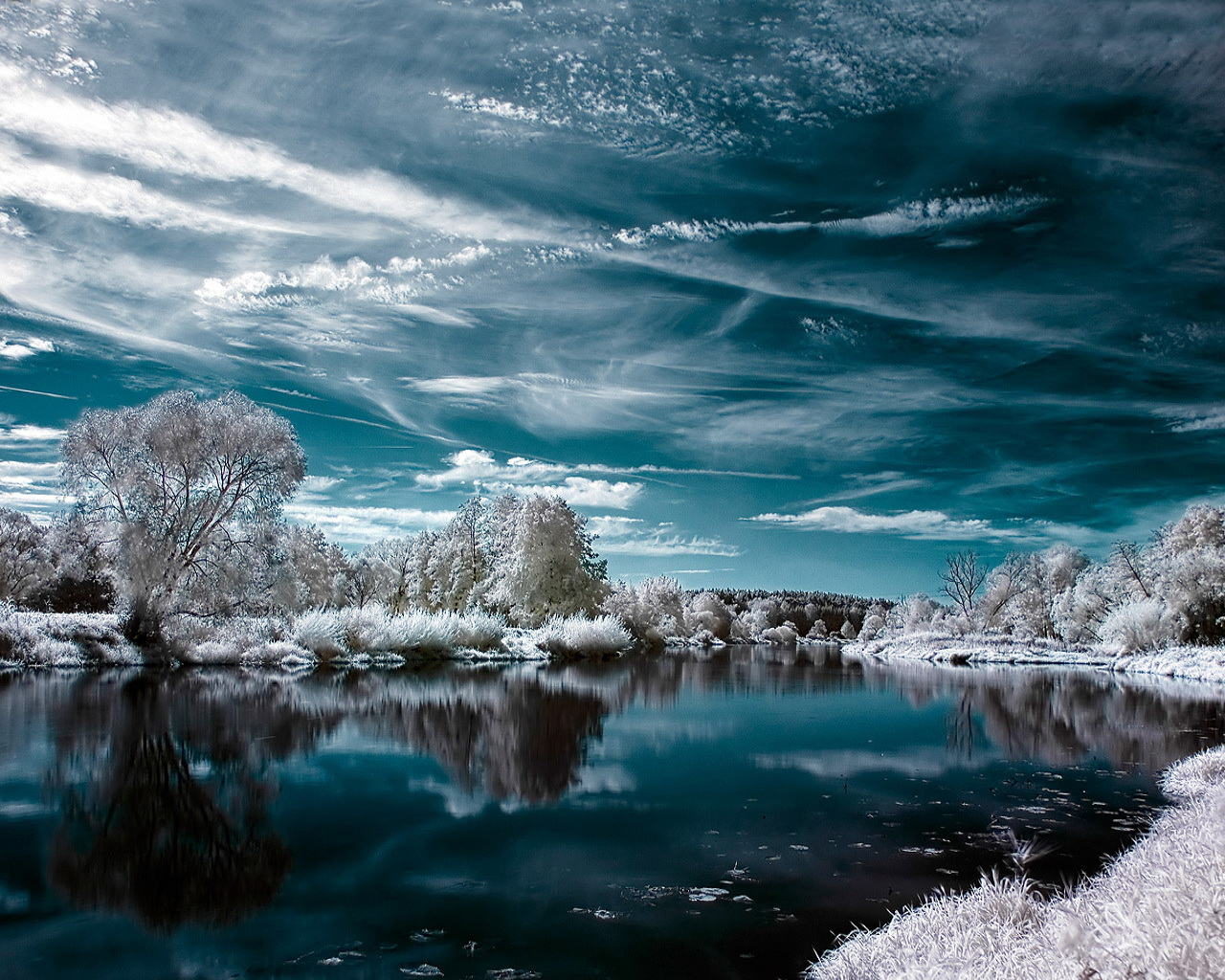 Wallpaper Collections 43 Beautiful Winter Wallpapers 1280x1024