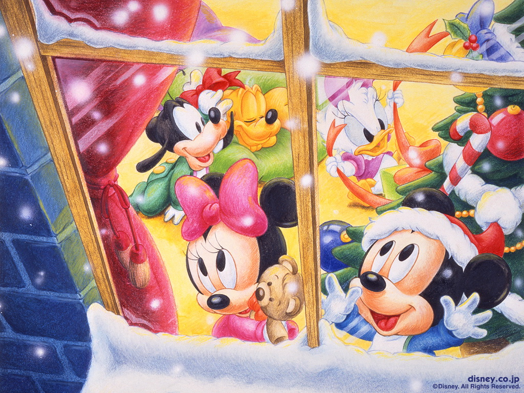 Disney Christmas WallpaperTHR999HKRG 5 1024x768