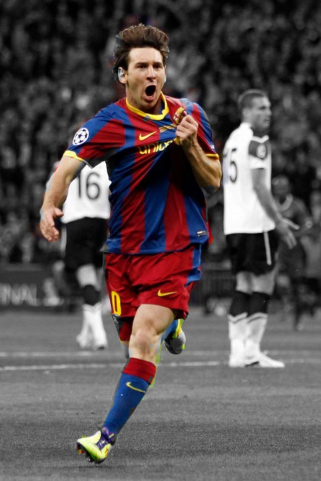 Messi Hd Iphone Wallpaper 1080p Wallpapers picture 640x960