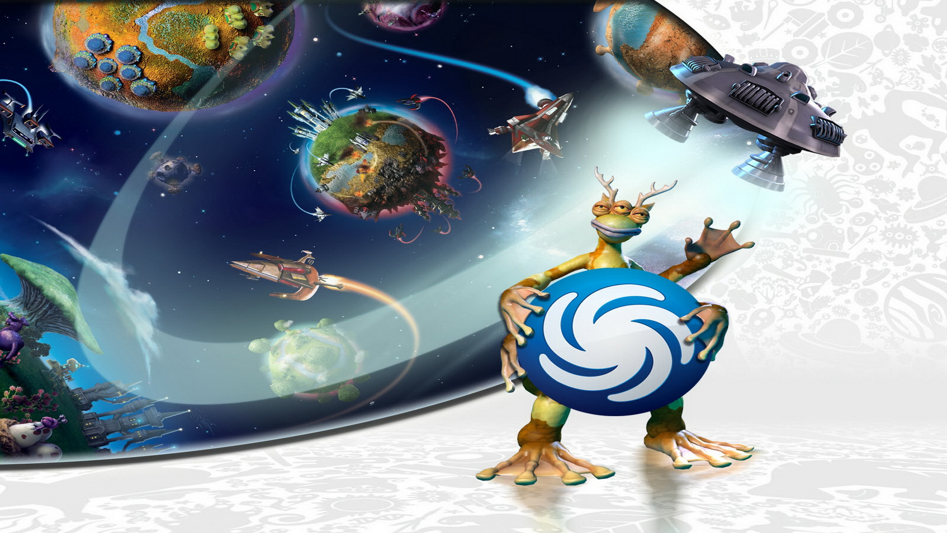 spore galactic adventures HD Wallpapers Games Wallpaper 1920x1080