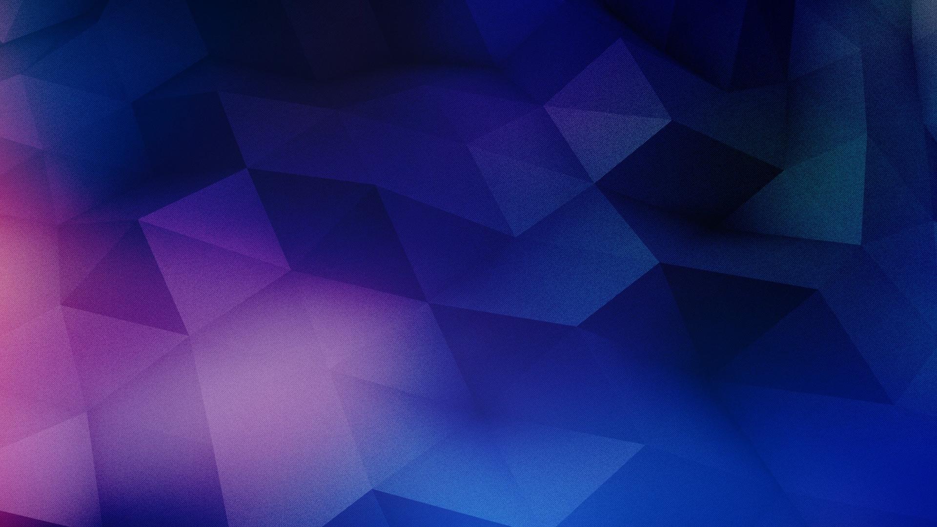 download Geometric wallpapers purple shapes blue wallpaper 1920x1080
