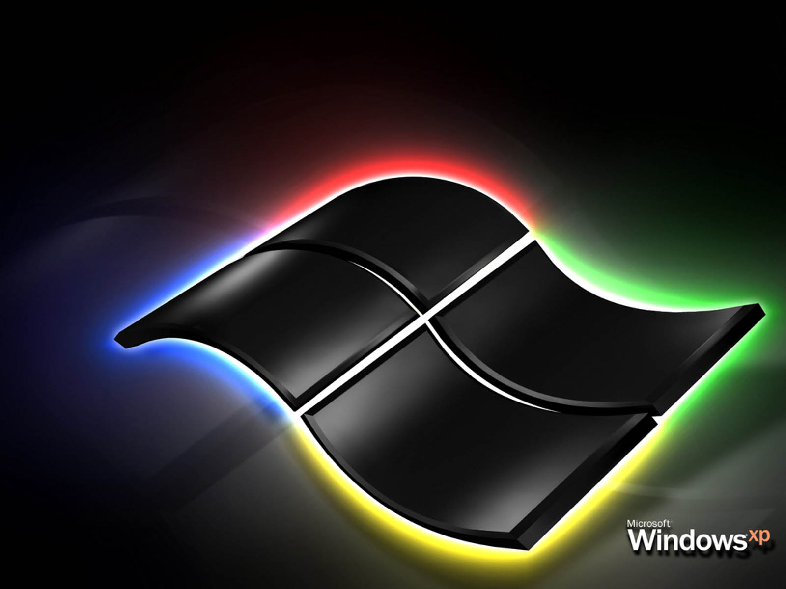 windows xp logo wallpaper desktop 1600x1200