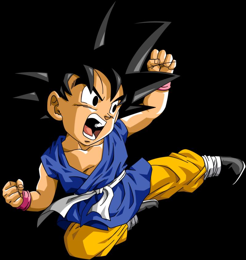 Goku DB GT2 by Leonardo9009 800x847