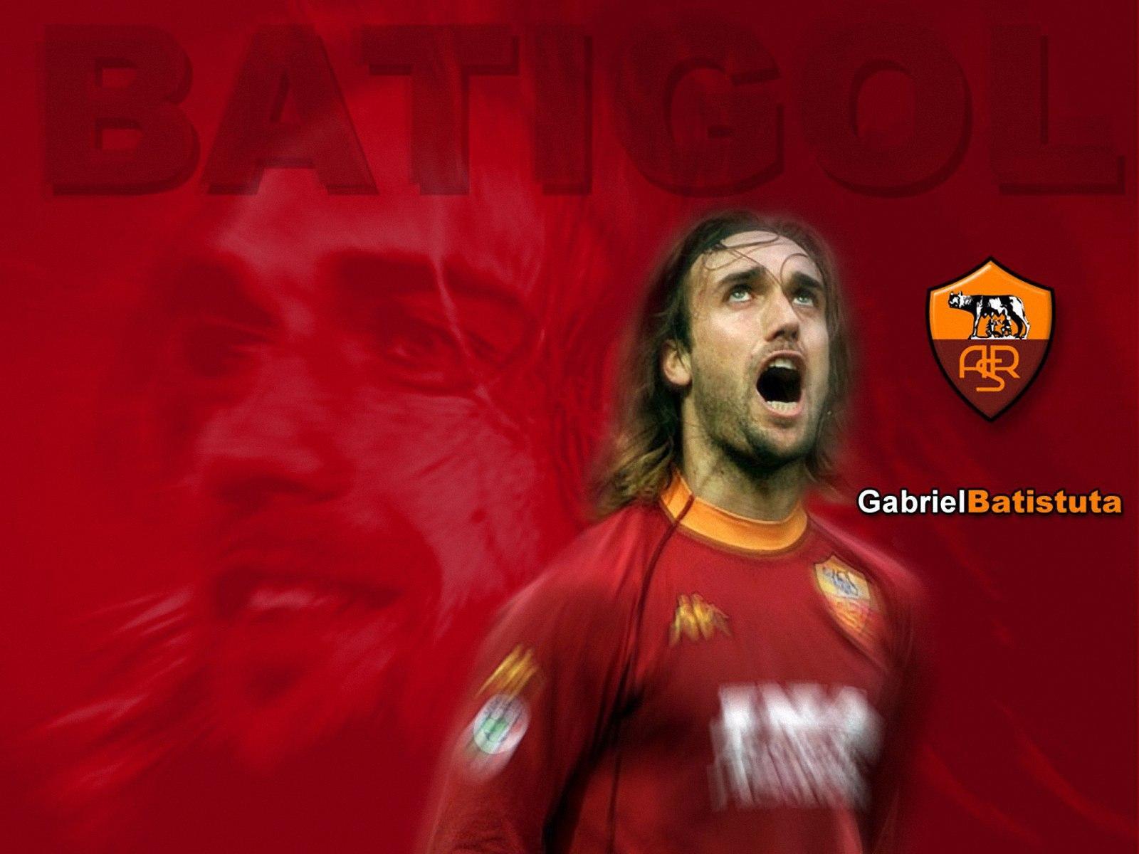 Gabriel Batistuta8 WallpapersSoccer Football Wallpapers 1600x1200