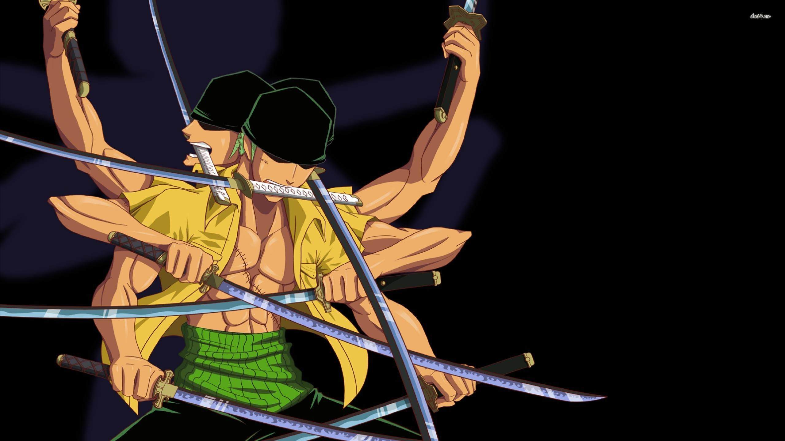 One Piece with a lot of swords wallpaper   Anime wallpapers   43600 2560x1440