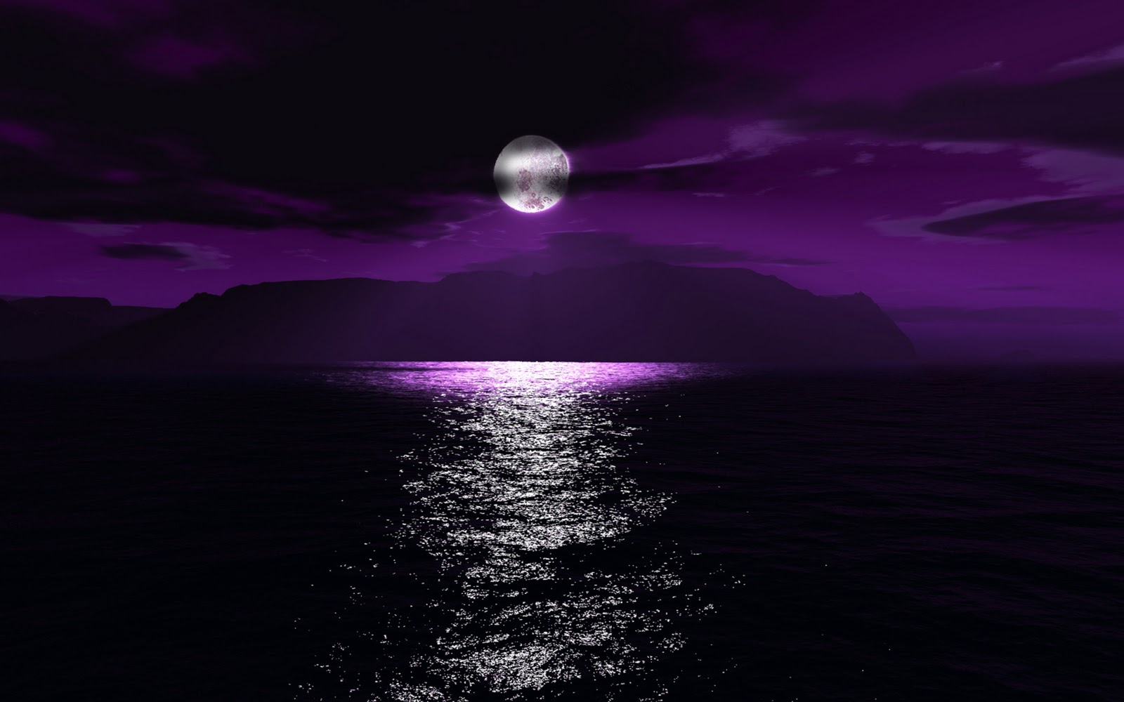 Sun Setting Over Moonlight Night Moon Images 1600x1000